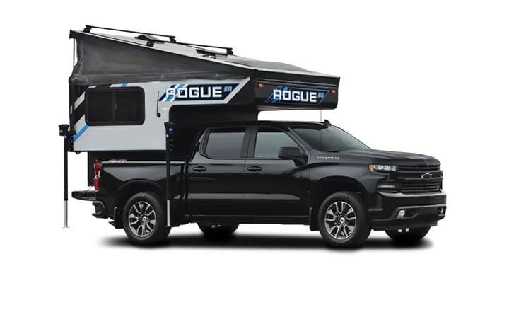 Forest River Palomino Rogue slide-in truck camper
