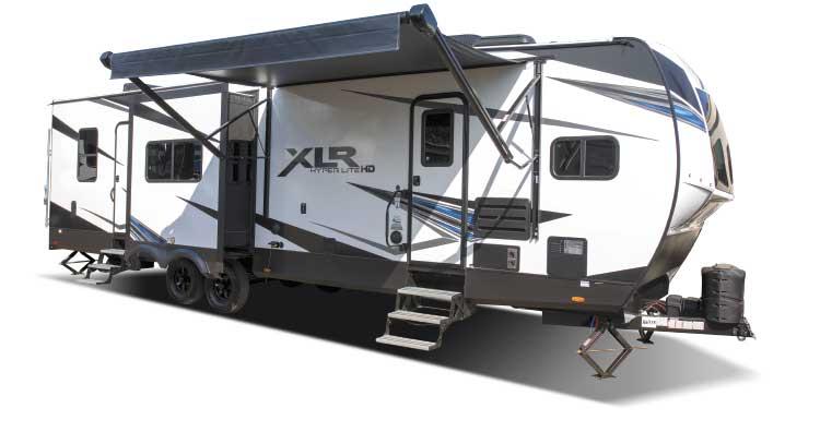 Forest River XLR Hyperlite 3310 Toy Hauler exterior