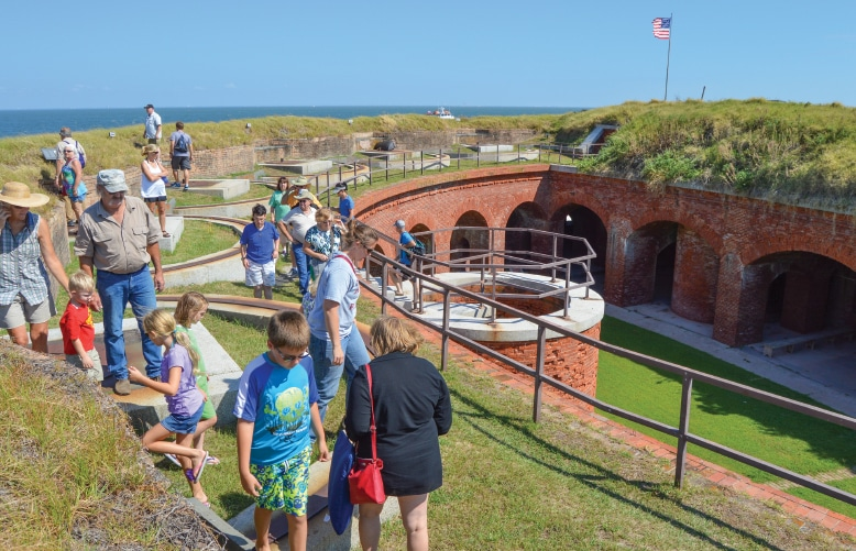Tours of Fort Massachusetts are available in the spring, summer and fall.