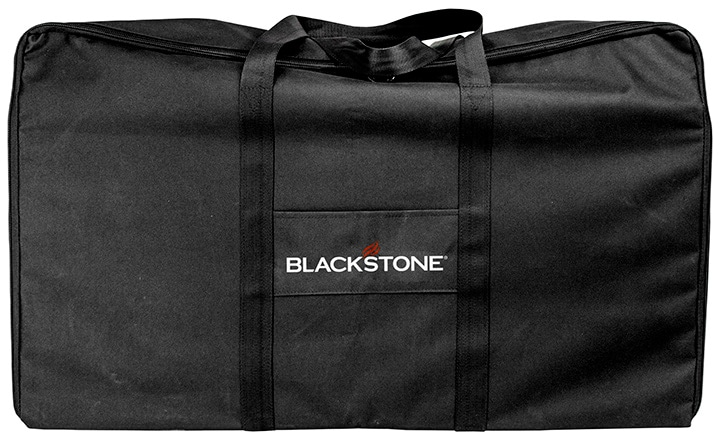 Blackstone Tailgater Combo carrying bag with grill inside.