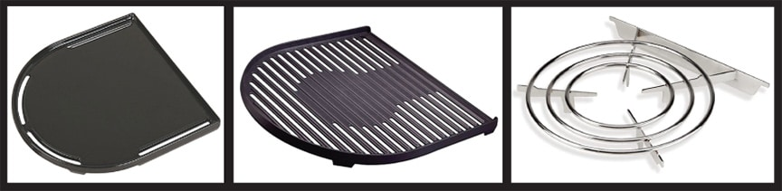 Griddle, grill and stovetop Swaptop accessories for Coleman RoadTrip grill