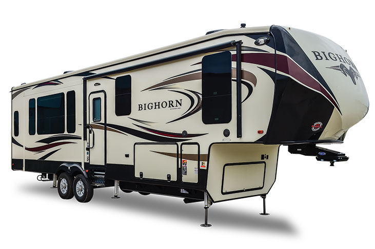 Large Bighorn fifth wheel RV