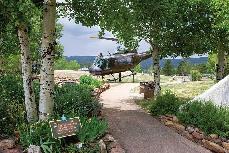Vietnam Veterans Memorial State Park in Angel Fire