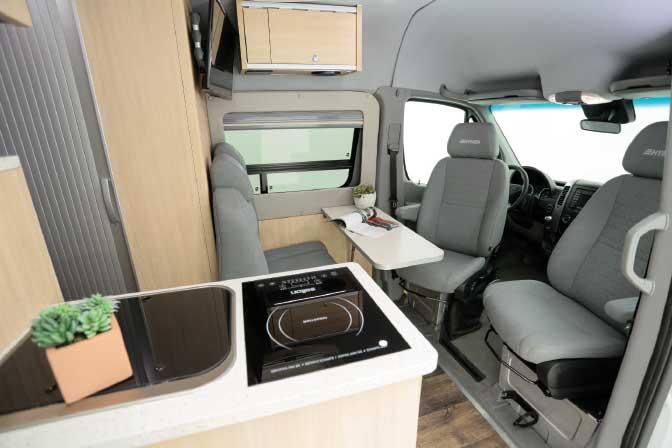 Hymer Aktiv S Class B motorhome Interior