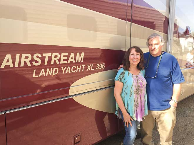 Dave and Lynn Pass have enjoyed five trouble-free years and more than 30,000 miles in their used Airstream.