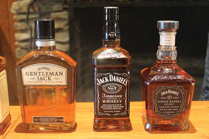 Although Lynchburg, Tennessee, is located in a dry county, visitors to the distillery are allowed a taste at a number of tours (a dry option is also available).