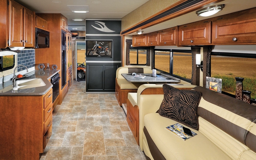 Thor Motor Coach Outlaw 37LS main living area