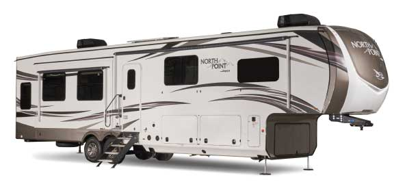 Jayco North Point 310Rlts exterior