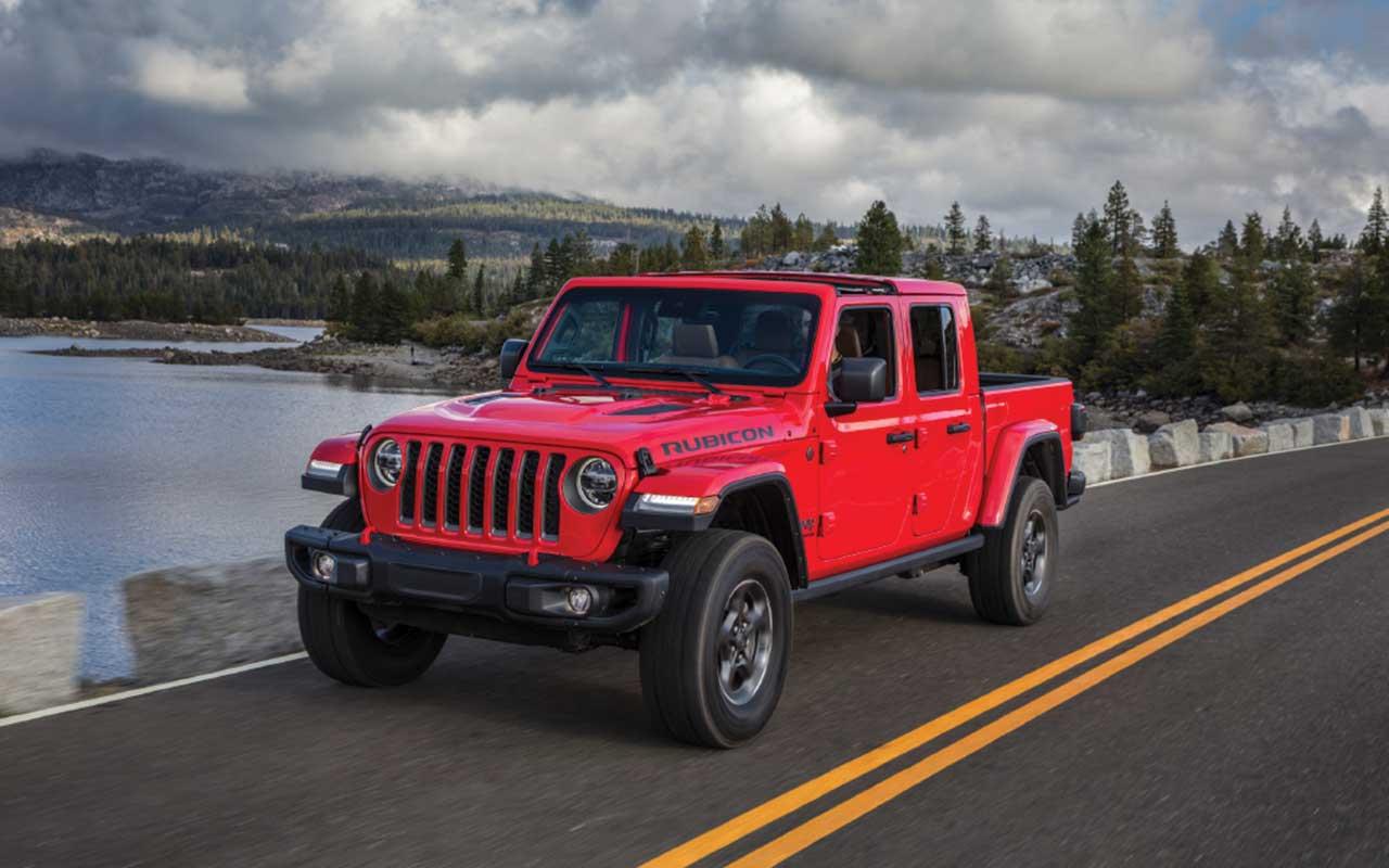 Jeep Rubicon Gladiator