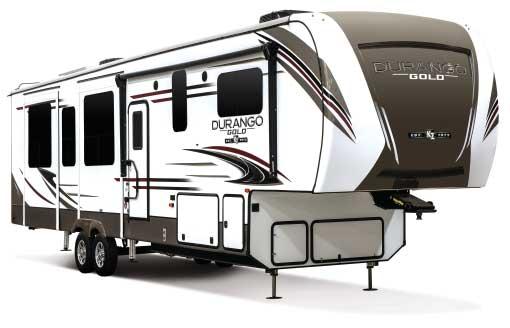 KZ Durango Gold G391rkq exterior