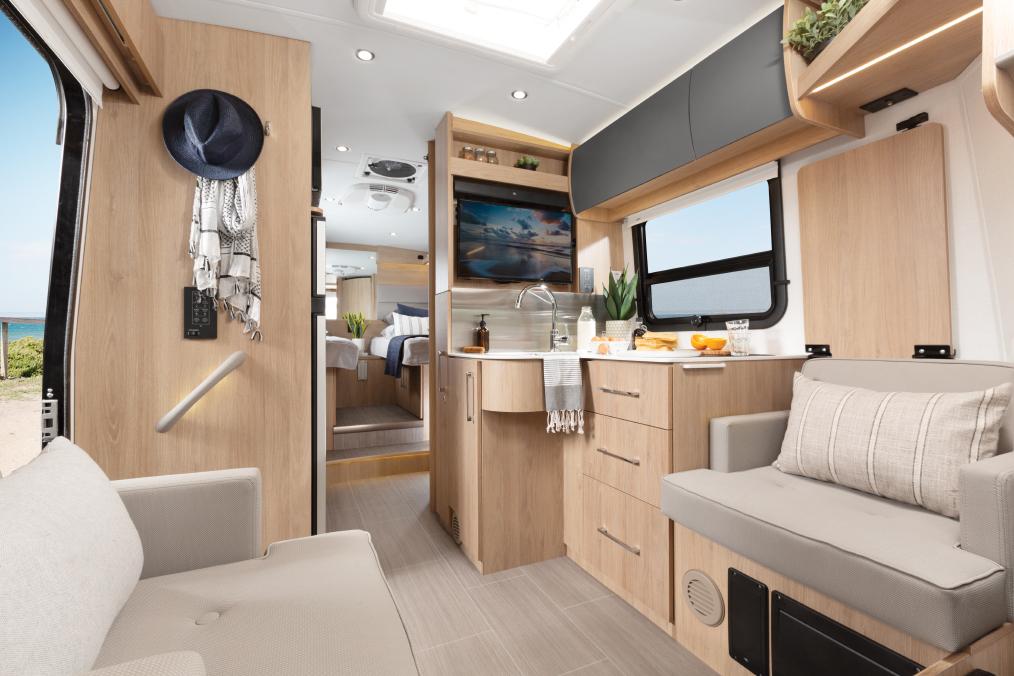 Leisure Travel Vans Wonder Class B interior