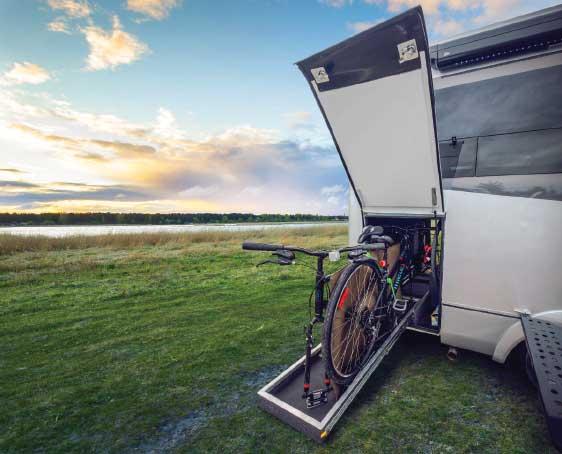 Leisure Travel Vans Wonder RTB Gear Garage