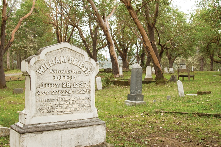 The Jacksonville Historic Cemetery provides a fascinating snapshot of the area's past.