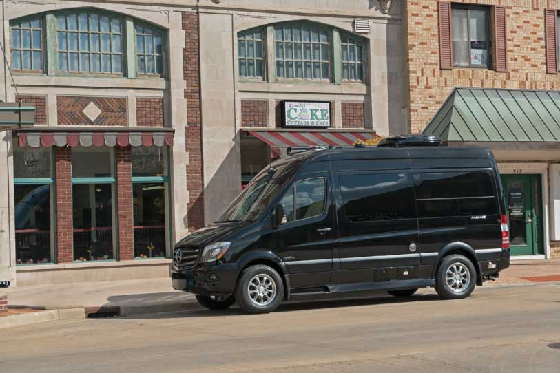 Midwest Automotive Designs Passage 144 Class B motorhome