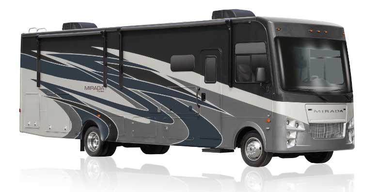 Coachmen Mirada 32SS Class A motorhome exterior