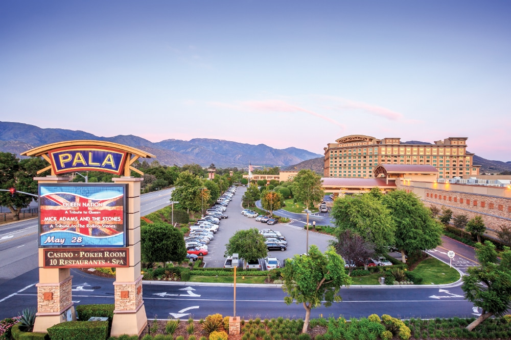 Pala Casino Spa and Resort (known for its live concerts and entertainment) introduced its new star in May, a 100-site luxury RV Resort just 5 miles from I-15 and surrounded by the Palomar Mountains.