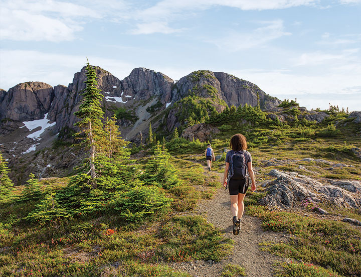 Hiking 5,960-foot Mount Arrowsmith, the highest point on southern Vancouver Island