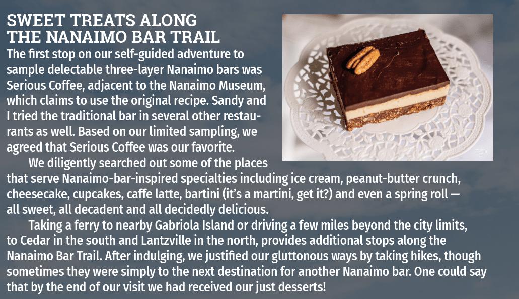 Recipe and photo of Nanaimo Bar