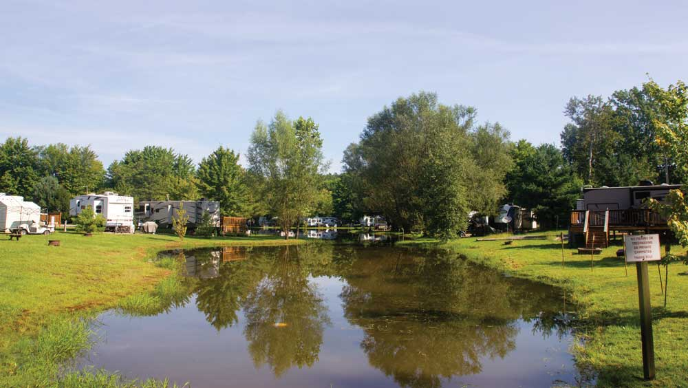 Photo of American Wilderness Campground, just 35 minutes from downtown Cleveland.
