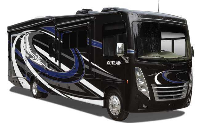 Thor Motor Coach Outlaw 38MB Toy Hauler