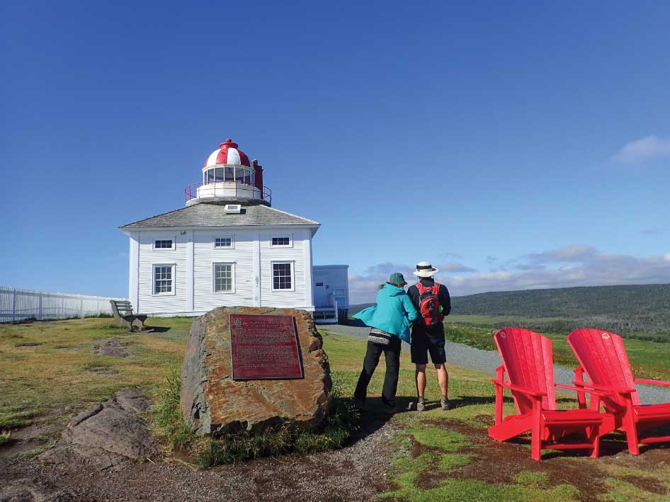 Cape Spear Lighthouse, built in 1836, is the oldest surviving lighthouse in the province.