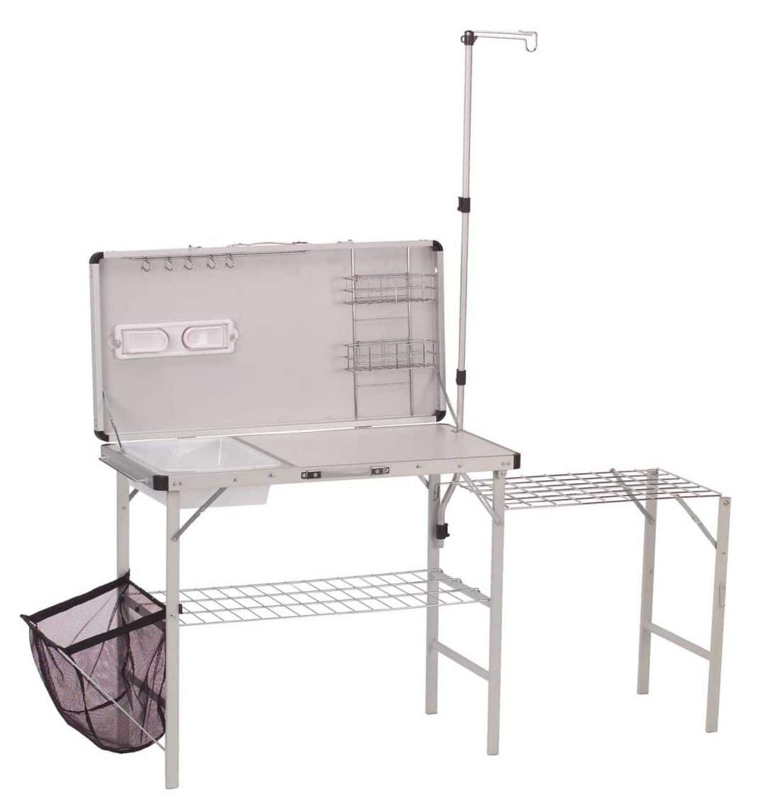 Foldable kitchen set for camping
