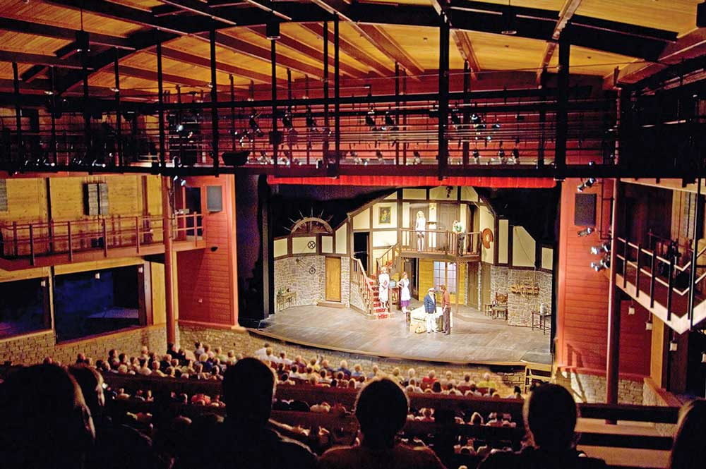 First opened in 1935, Peninsula Players Theatre is America's oldest professional resident summer theater and performs six days per week from mid-June through mid-October.