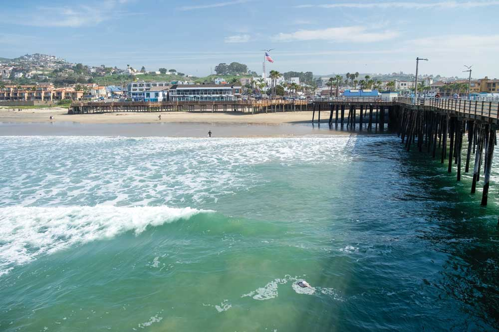 A classic symbol of coastal culture, the Pismo Beach Pier has welcomed tourists and fisherfolk since 1924.