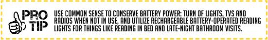 Pro Tip Battery Power