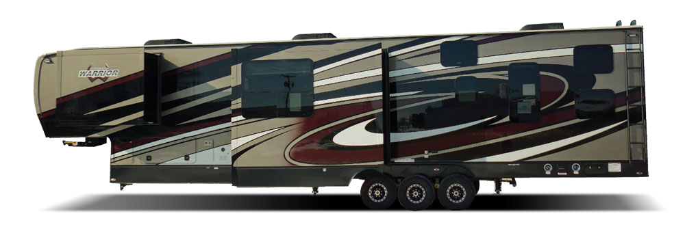 RV Factory Weekend Warrior big fifth wheel