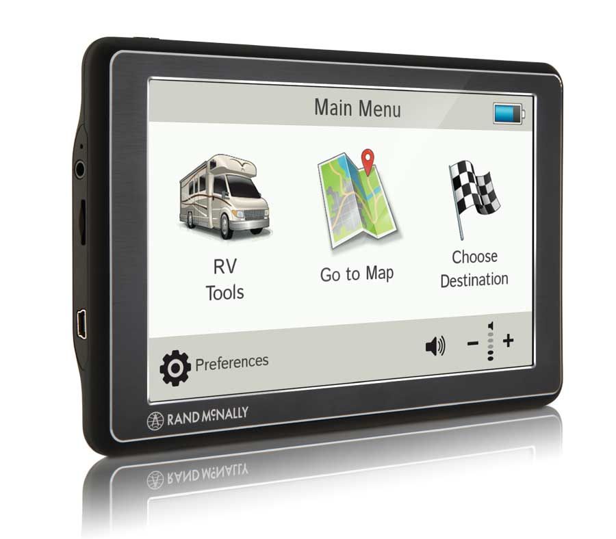 The base model RVND 7 from Rand McNally has a full 7-inch screen and includes free lifetime maps. If you are on a budget, this is a great choice for a GPS.