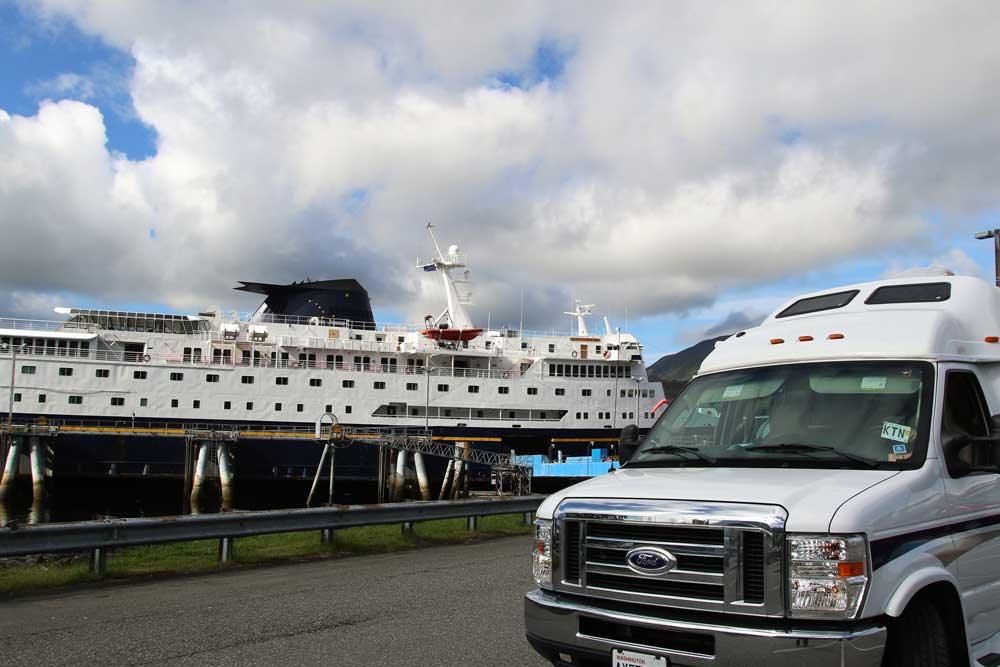 RV Life on Alaska Marine Highway System ferries