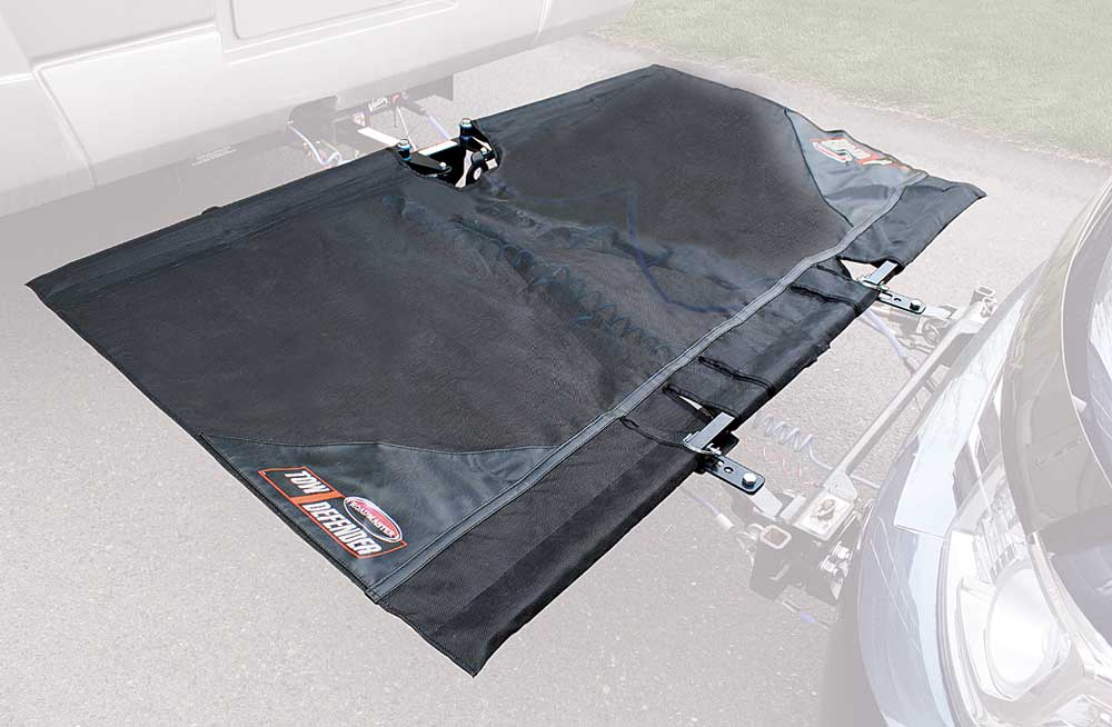 The Tow Defender rock screen from Roadmaster