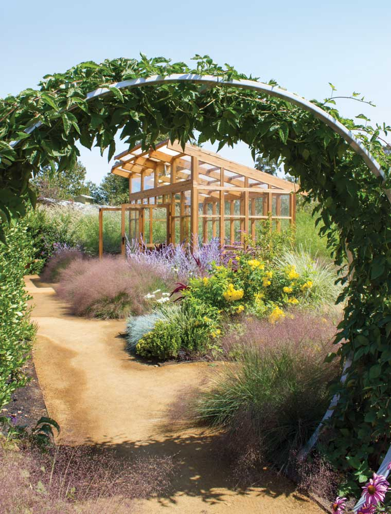 The Sunset Test Gardens' Farm at Cornerstone Sonoma uses compost, fish emulsion and chemical-free fertilizers.