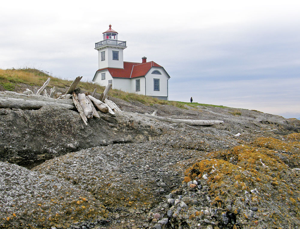 Five lighthouses are part of Washington's San Juan Islands National Monument and have kept many ships and mariners safe throughout history.