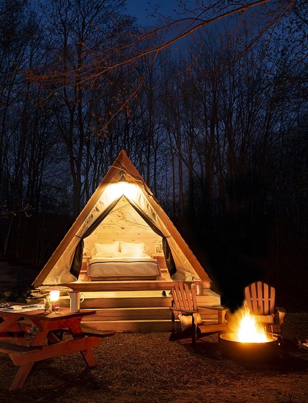 Sandy Pines Campground, Kennebunkport, Maine