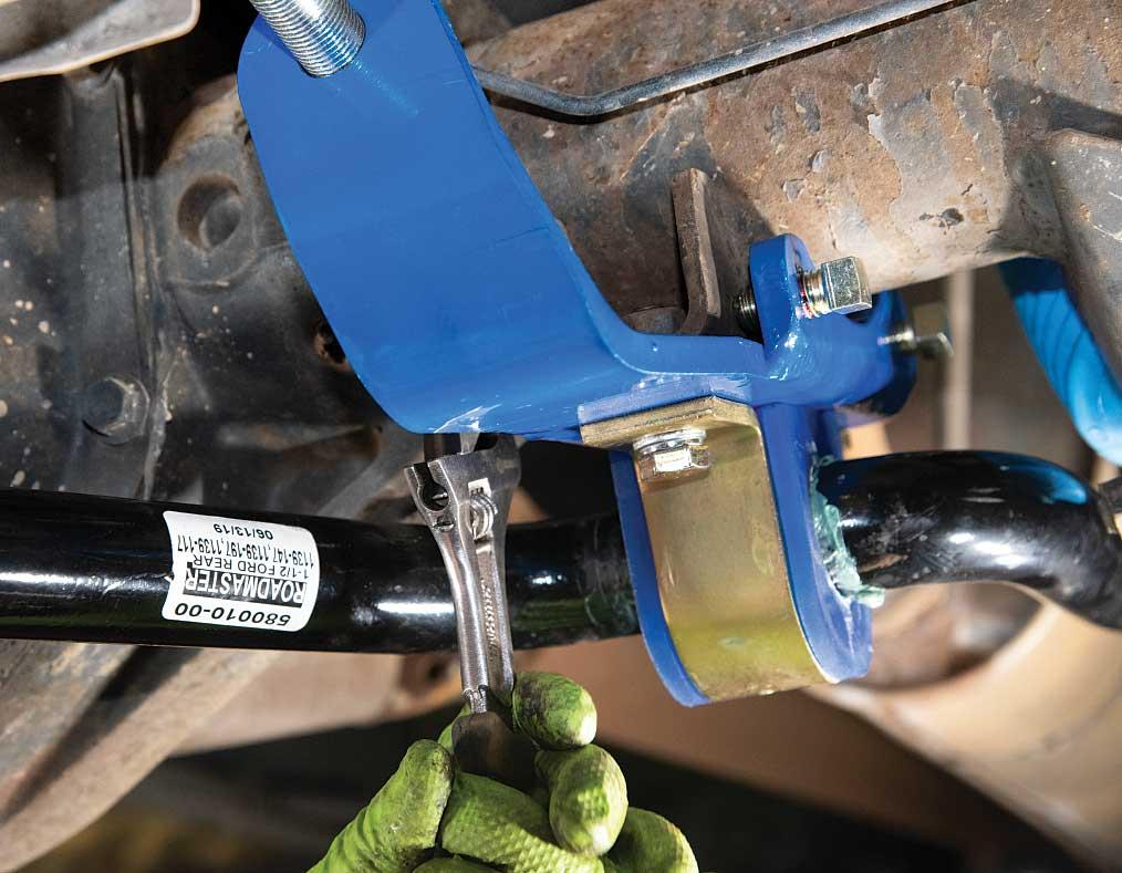 SuperSteer passenger side set screws
