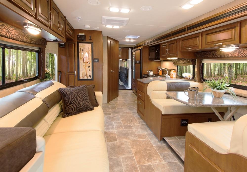 Thor Motor Coach Outlaw 35SG Super C main living area