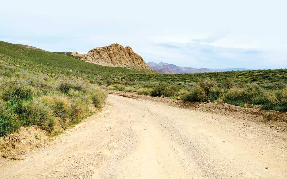 For 27 of its 30 miles, Titus Canyon Road is a well-maintained dirt drive that travels one way only, from east to west.