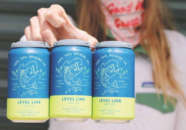 Topa Topa Brewing Co. canned beer