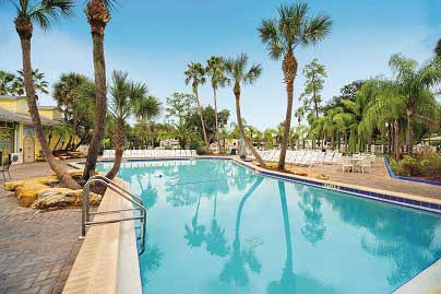 Pool at Tropical Palms RV Resort
