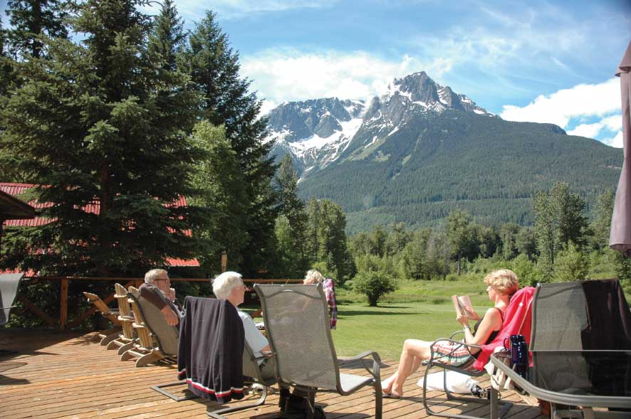 The downside of visiting the Bella Coola Valley? The setting can be so relaxing and the scenery so spectacular, you won't want to leave.
