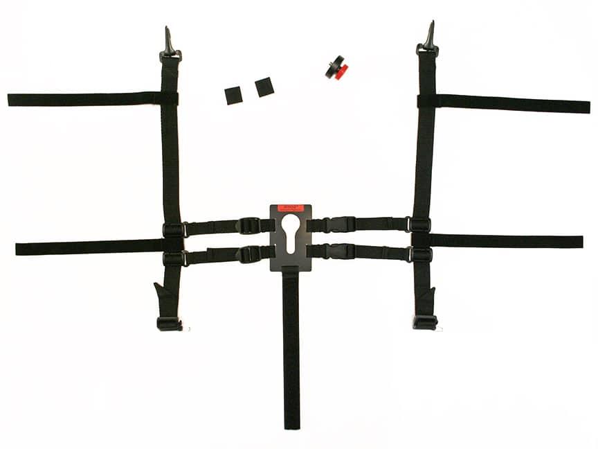 Strap apparatus of Universal Keyhole camera holder