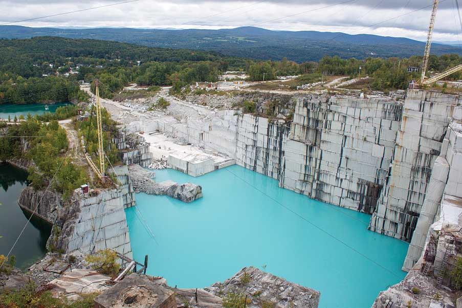 Photo of Rock of Ages granite quarry
