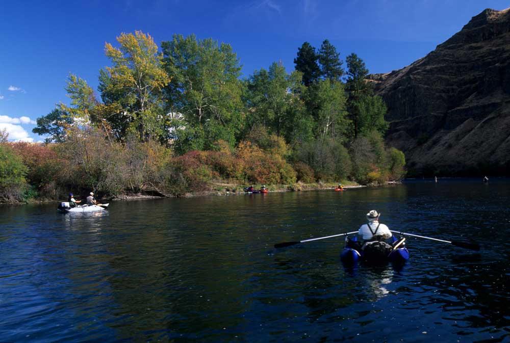 Fishing on the Yakima River
