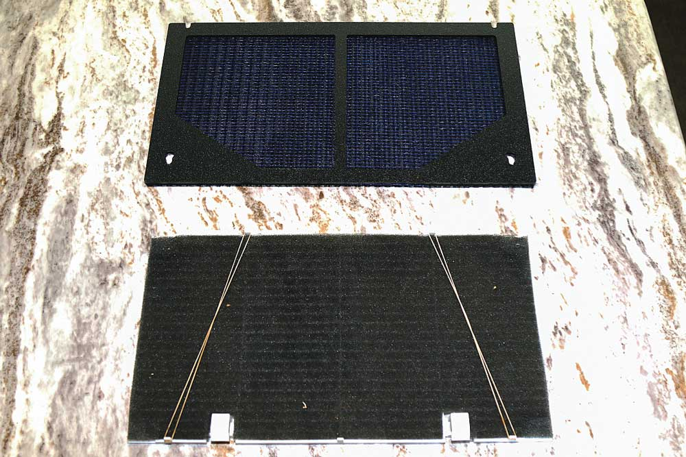 Side by side image of airconditioner flters