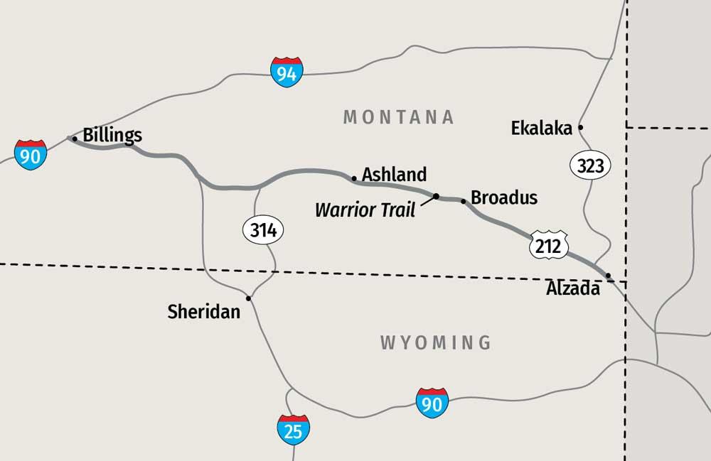 Warrior Trailer map