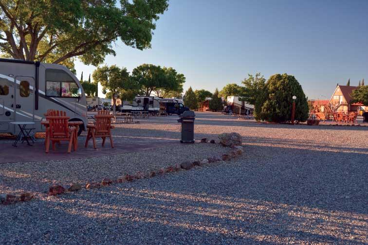 Willcox Cochise KOA RV park