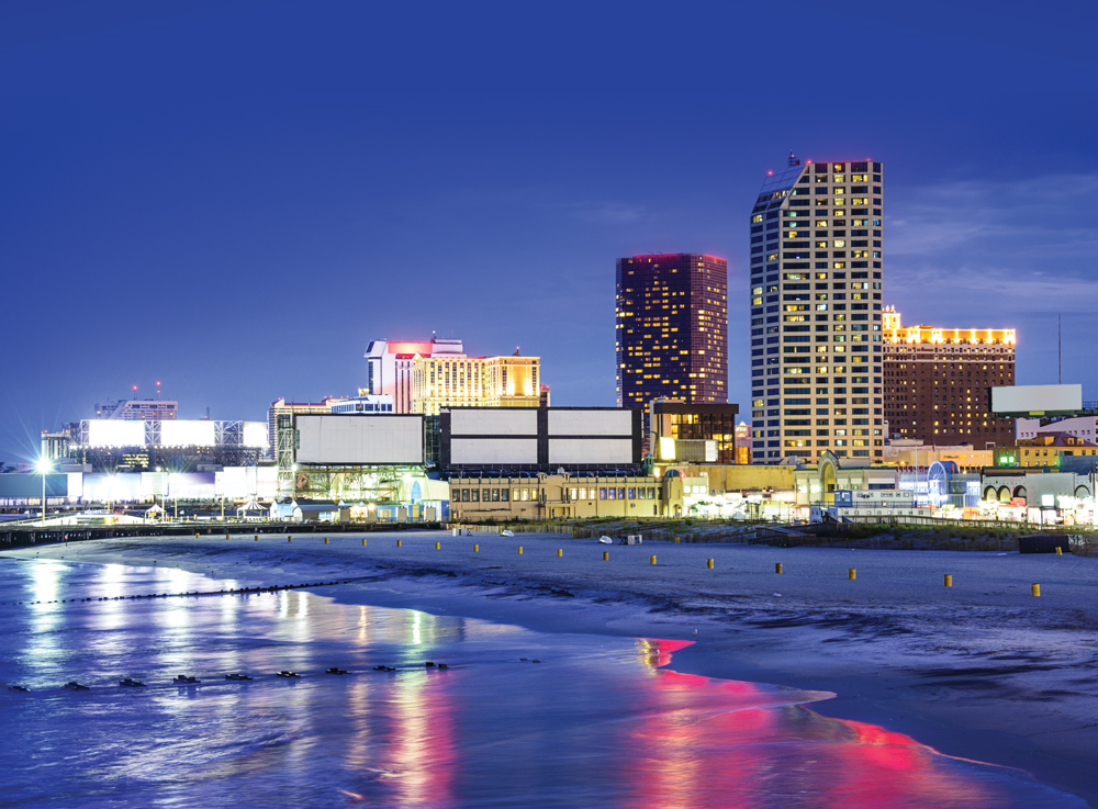 World-class comedians, musicians and magicians light up the stages in Atlantic City year-round. Shows sell out, so if you go, be sure to purchase tickets ahead of time.