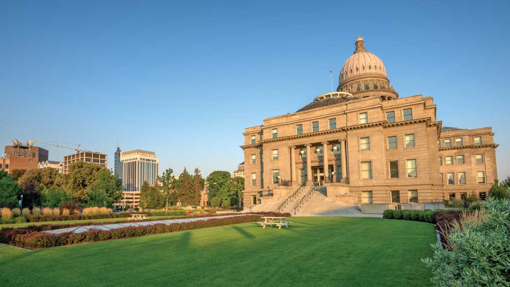 The Idaho Capitol was rededicated in January 2010 after three years of renovations.